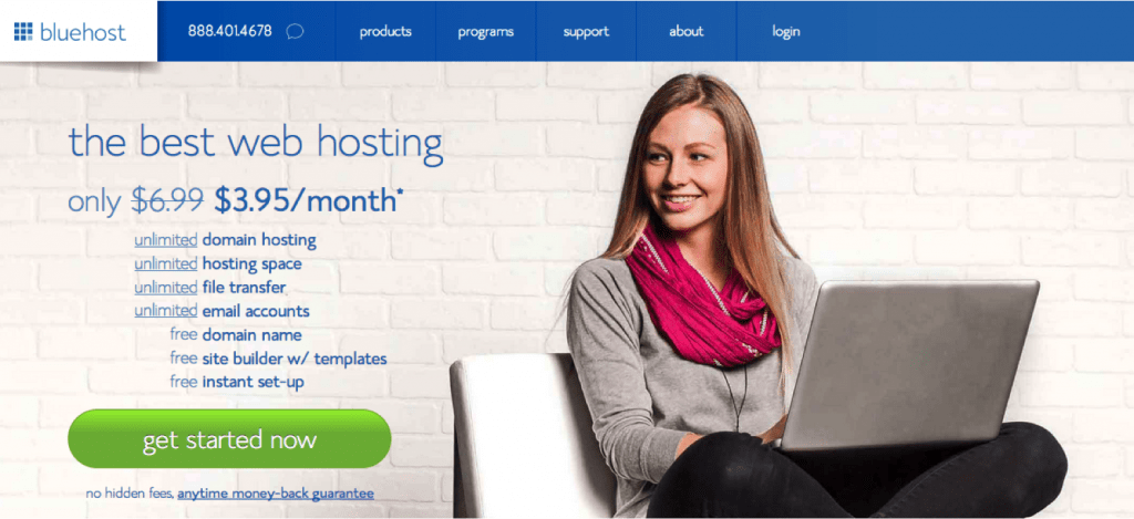 How to start a blog or site using BlueHost and WordPress